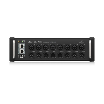 SD8 Behringer Stage Box 8 Output, Ultranet, Aes 50