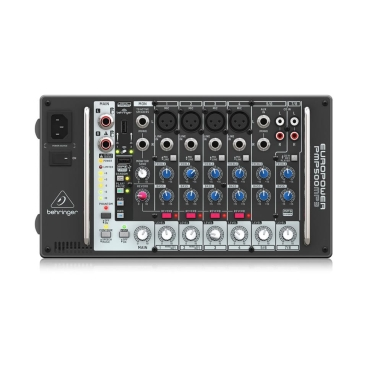 PMP500MP3 Mixer Behringer Liền Công Suất 500w 8 channels MP3