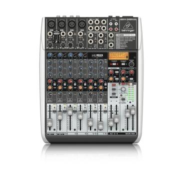 Behringer QX1204USB Mixer Analog 12 input 2/2 Bus Tích Hợp Mic Preamp EQ USB FX