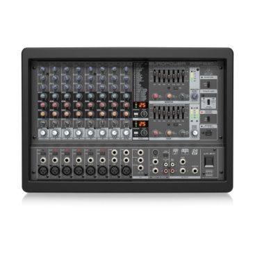 Behringer PMP1680S Mixer Liền Công Suất 1.600w 10 channels 2 x FX