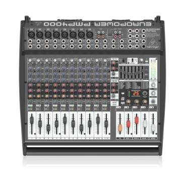 Behringer PMP4000 Mixer Liền Công Suất 1.600w 16 channels FX