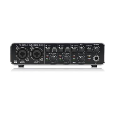 UMC204HD Sound Card Behringer