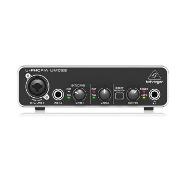 UMC22 Computer Audio Behringer UMC22