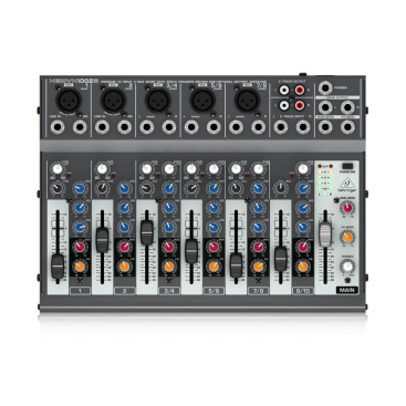 1002B Battery Powered Analog Mixers Behringer