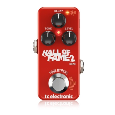 Hall of Fame 2 Mini Reverb - Guitar and Bass TC ELECTRONIC HALL OF FAME 2 MINI REVERB